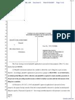 Blankenship v. Malcolm et al - Document No. 3