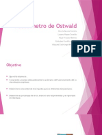 Viscosímetro de Ostwald Presentación.
