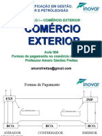 Aula 004 - Formas de Pagamentono ComEx