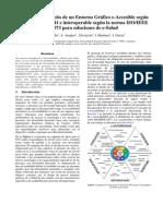 Propuesta de Diseno de Un Entorno Grafico E-Accesible Segun La Norma ISO 9241 e Interoperable Segun La Norma ISO-IEEE 11073 Para Soluciones de E-Salud
