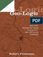 Frodeman (2003) - Geo-logic