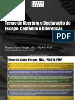 Escopo - Ricardo Vargas