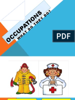 Occupations Lesson
