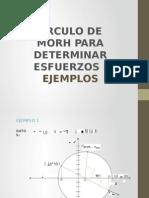 Circulo de Mohr Ejemplos-silva Alfaro-tarazona Reyes