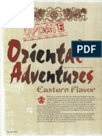 Oriental Adventures Update to 3_5