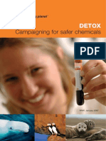 Detox Campaigning for Safer Chemicals