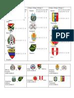 Copa America 1ra Fase