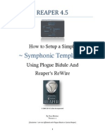 How to Use Plogue Bidule in Reaper