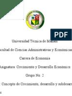 ENSAYO DE CRECIMIENTO ECONOMICO .docx