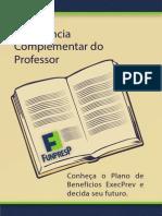 Cartilha Professor Funpresp Impresso
