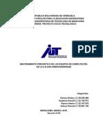 Proyecto Socio-Tecnologico (Fase 1)