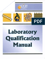 Lab Qualification Manual