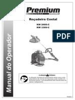 Manual Rocadeira Linha Premium - Costal_V1