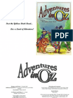 Adventures in Oz Beyond the Yellow Brick Road