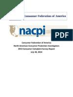 2013 Consumer Survey Report