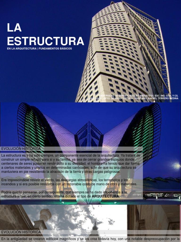 Ciclo de formaci n teorica c04 la estructura en la for Estructuras arquitectura pdf