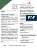 Questão Aula República Velha - Olígárquica - Política