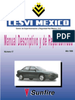 manual descriptivo Sunfire 1999