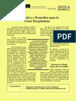 TP-894-Diagnostico y Remedios Para La Crisis Hospitalaria-07!11!2008