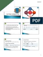 Materi sistem Bilangan