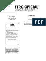 Norma de Capacitación Ro 296 de 24 Julio 2014 y Delegación Uath Ro 252