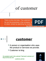Types of Customer