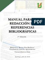 Manual Para La Redacción de Referencias Bibliográficas 12014