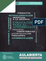 Revista AulAbierta N°2 - Evaluación Para El Aprendizaje