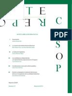 Reporte CESOP No 73 Apuntes Reforma Politica