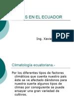 Climas en El Ecuador