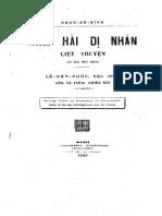 Nam Hai Di Nhan Liet Truyen