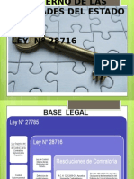 Ley Control Interno Ppt