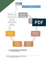 Modelo de Los 7 Pasos Para Solución de Problemas