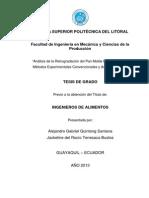 Análisis de la retrogradación del pan molde blanco mediante métodos experimentales convencionales y análisis térmico.pdf