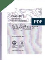 Proceding Warisan Nustr