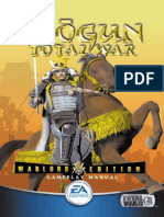 Shogun - Total War - Warlord Edition - Manual - PC