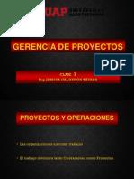 01 Primera Sesión - Gestión de proyectos