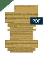 Operative Fact Doctrine Explained