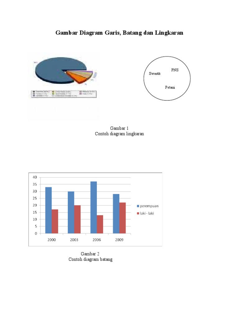Gambar diagram garis batang dan lingkaran ccuart Gallery