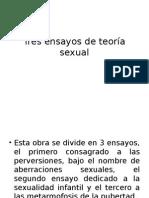 Tres Ensayos de Teoría Sexual