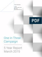 1IN3 5 Year Report 2015