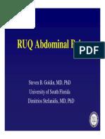 Ruq Abdominal Pain