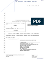 High Maintenance Bitch LLC v. Uptown Dog Club Inc - Document No. 9