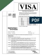 IIT-JEE Model Test Paper  2010~Two Year