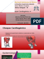 Choque Cardiogénico