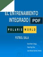El Entrenamiento Integrado en Futbol Sala