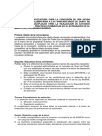 Bases Ayudas Erasmus 2015 de Quart de Poblet, del 1 al 29 de Septiembre