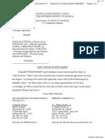 NYSE EURONEXT v. Atwood et al - Document No. 13