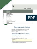 Laplace y Matlab