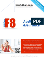 ACCA F8 December 2015 Notes